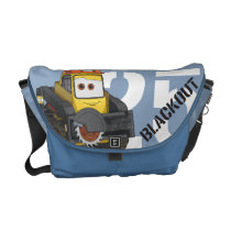 Blackout Character Art Courier Bags at Zazzle