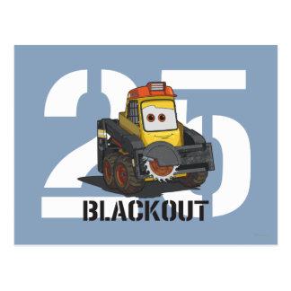 Blackout Character Art Postcard