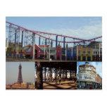 Blackpool 4 imágenes postal
