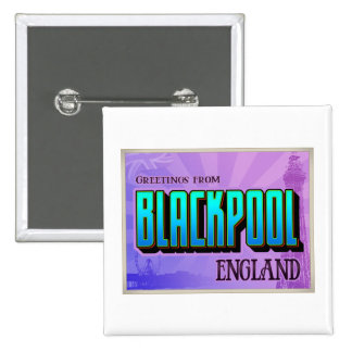 BLACKPOOL PINBACK BUTTONS