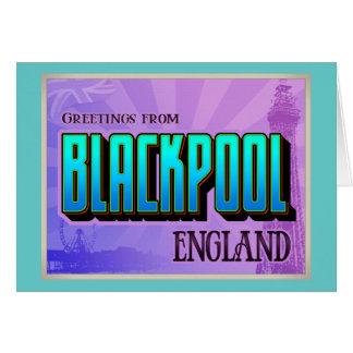 BLACKPOOL GREETING CARDS