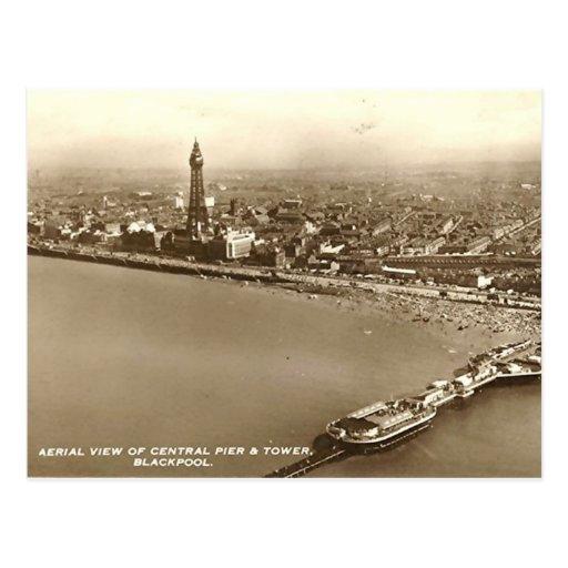 Blackpool del aire tarjetas postales