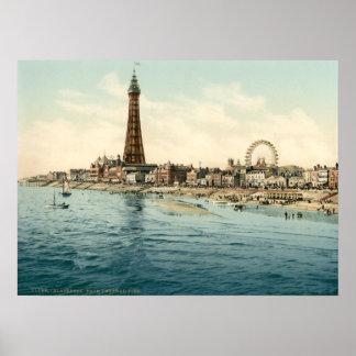 Blackpool I, Lancashire, Inglaterra Póster
