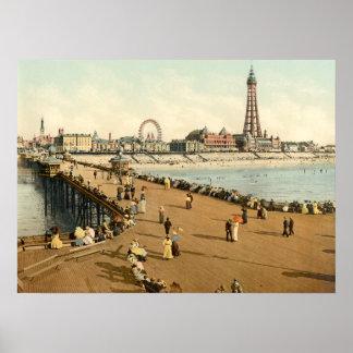 Blackpool III, Lancashire, England Poster