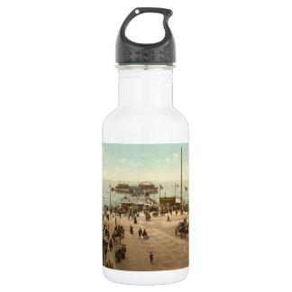 Blackpool North Pier, Lancashire, England 18oz Water Bottle