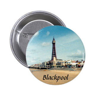 Blackpool Pinback Button