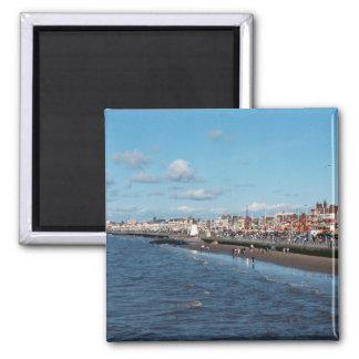 Blackpool Promenade and sea view Magnet