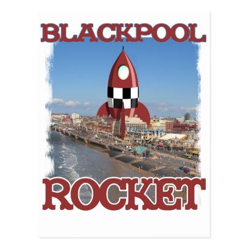 Blackpool Rocket Tarjetas Postales