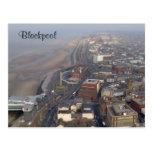 Blackpool Tarjeta Postal