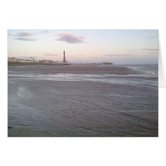 Blackpool Tower Card