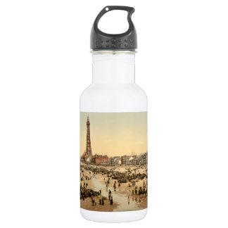 Blackpool Tower II, Lancashire, England 18oz Water Bottle