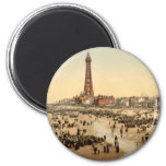 Blackpool Tower II, Lancashire, England Magnets