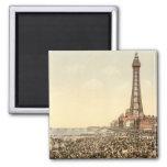 Blackpool Tower III, Lancashire, England Magnet