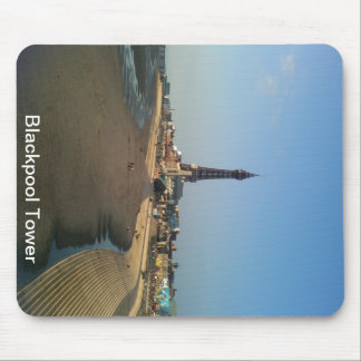 Blackpool Tower in England Mouse Pad