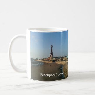 Blackpool Tower in England Coffee Mugs
