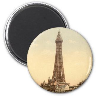 Blackpool Tower IV, Lancashire, England Magnet