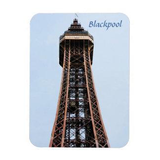 Blackpool Tower souvenir photo Magnet