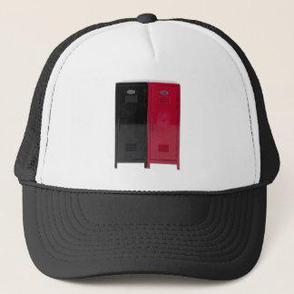 BlackRedLockers090411 Trucker Hat