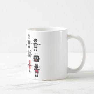 BlackRobot1 Classic White Coffee Mug