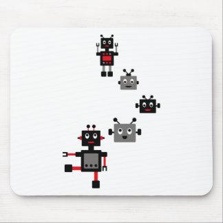 BlackRobot9 Mouse Pad