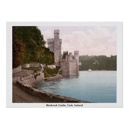Blackrock Castle, Cork, Ireland Poster