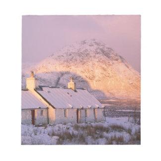 Blackrock Cottage, Glencoe, Highlands, Scotland 2 Notepad