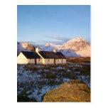 Blackrock Cottage, Glencoe, Highlands, Scotland Postcard