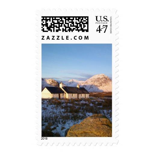 Blackrock Cottage, Glencoe, Highlands, Scotland Stamp