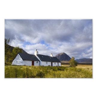 Blackrock Cottage, Glencoe Scotland Photo Print