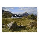 Blackrock Cottage Scotland Greeting Card