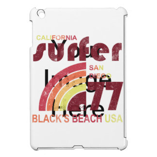 blacks beach california iPad mini cases