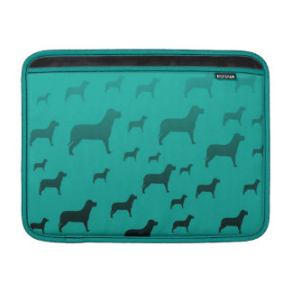 Blacks dogs pattern sleeve for MacBook air