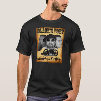 Black's Fort Wanted Poster Official band Tee Shirt