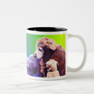 Black's Threesome Two-Tone Coffee Mug