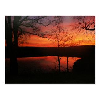 Blacksburg Sunset Postcard