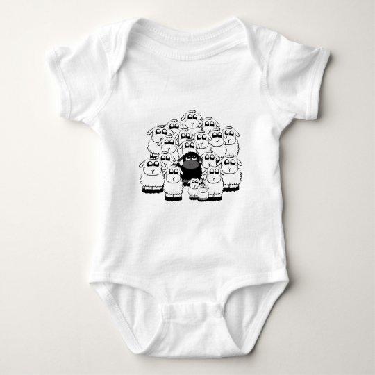 blacksheep baby bodysuit