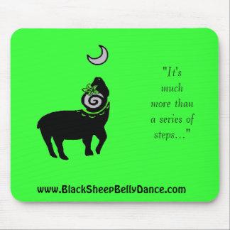 ¡BlackSheep BellyDance Mousepad! Mousepad