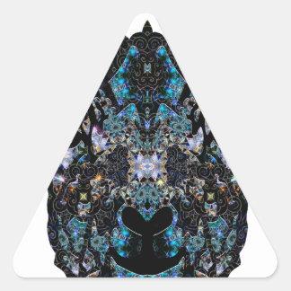 Blacksheep Pegatina Triangular