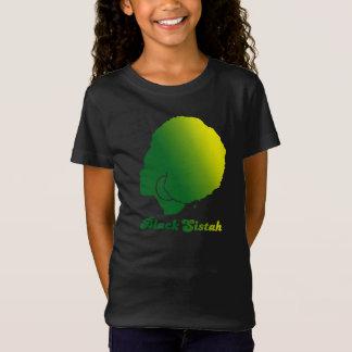 BlackSistah Girls Fine Jersey T-Shirt (Green)
