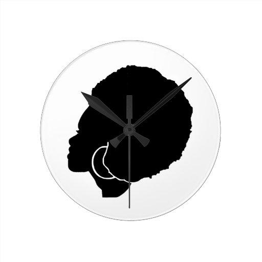 BlackSistah Wall Clock