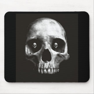 blackskull2 mouse pad