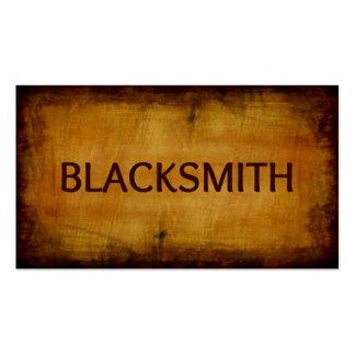 Blacksmith Antique Brushed Business Card