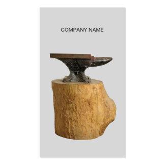 Blacksmith Anvil Business Card Template