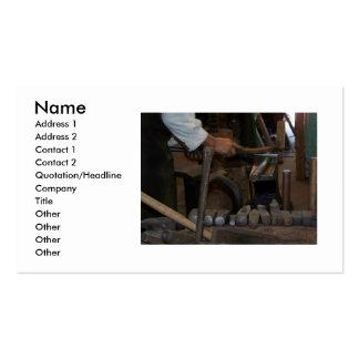 Blacksmith Business Card