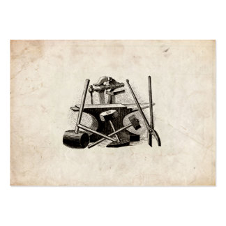 Blacksmith Calling Card Large Business Card