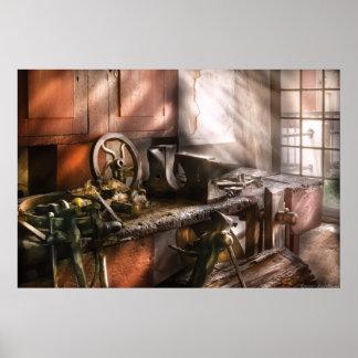 Blacksmith - In my Grandfather's Workshop Print