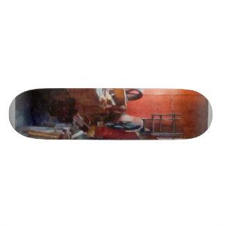 Blacksmith Shop Near Window Skate Board Decks