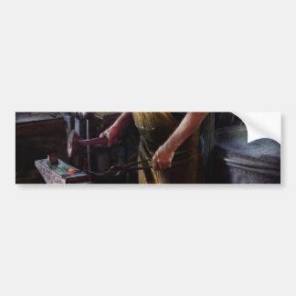 Blacksmith - Starting with a bang Bumper Sticker