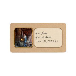 Blacksmith - The importance of the Blacksmith Address Label