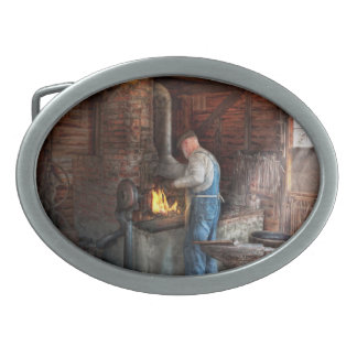 Blacksmith - The importance of the Blacksmith Oval Belt Buckle